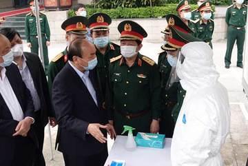 Thủ tướng chỉ thị quyết liệt thực hiện đợt cao điểm  phòng chống dịch COVID-19